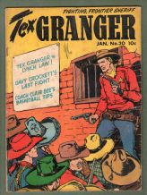 1949 western Comic book Tex Granger #20  great contents  #279